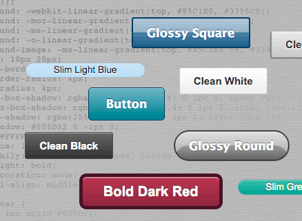 CSS Button Builder >>> http://www.wdb.injoystudio.com/css-button-builder/